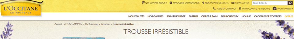 L'Occitane sur mobile, quelles optimisations possibles ?